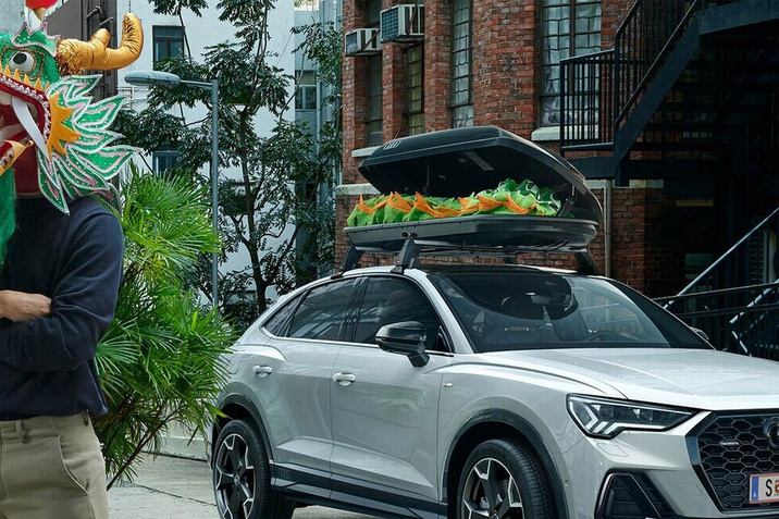 Strešni nosilci Audi