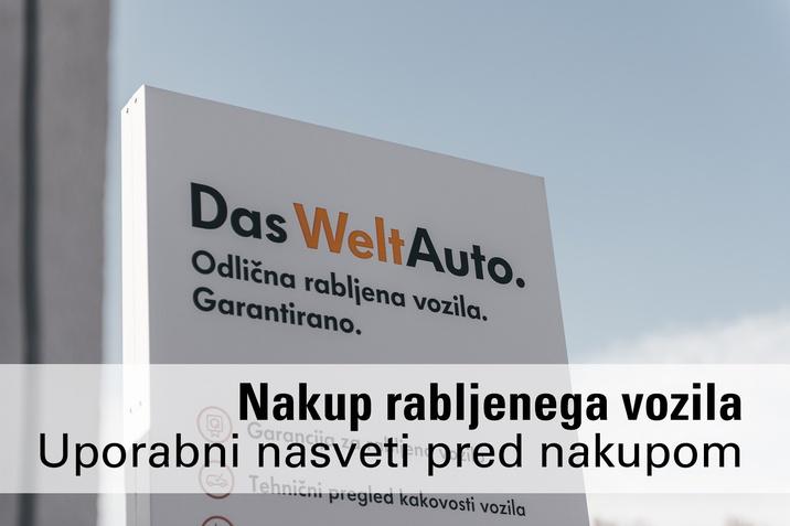 Das WeltAuto nakup rabljenih vozil nasveti