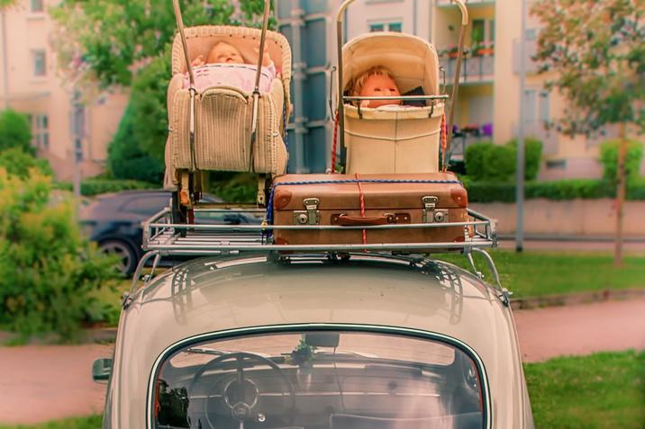 Strešni nosilci in strešni kovčki