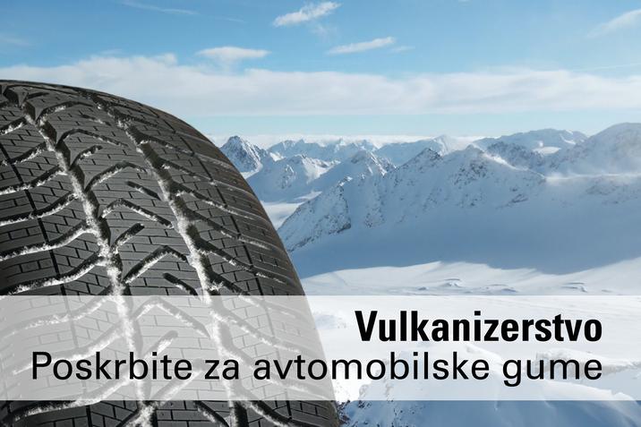 Vulkanizerstvo menjava gum pnevmatike